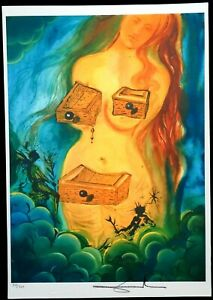 Salvador Dali - Lithographie Limitierte Auflage Nr. 57/350