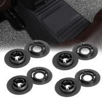 8x Black Floor Mat Fastener Clips Fixing Grips Carpet Fit VW & AUDI SKODA SEAT