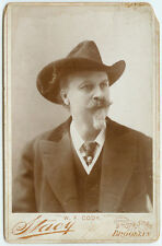 VINTAGE WILD WEST PONY EXPRESS AND MORE: Buffalo Bill Cody Cabinet Card by Stacy