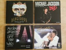 Michael Jackson Bad Thriller Dangerous Off The Wall Special Edition CD Argentina