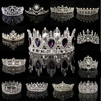 Wedding Bridesmaid Headpiece Bridal Rhinestone Hair Tiara Crown Party