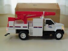 DG PRODUCTIONS GPU ENERGY - GMC TOPKICK UTILITY / BUCKET TRUCK MODEL / BANK