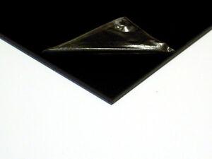 2mm ABS Sheet Black Plastic Vacforming Vacuum Car Bike Trim [A8,A6,A5,A4,A3]