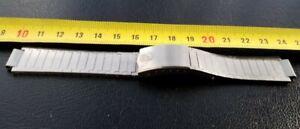 Vintage Beautiful Girard Perregaux Stainless Steel Watch Bracelet 12mm 18MM 69