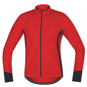 Red Cycling Jersey Men MTB Bike Shirt Long Road Bicycle Top Quality Jacket Coat