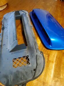 Subaru Impreza WRX Hood Scoop Used and bottom tray