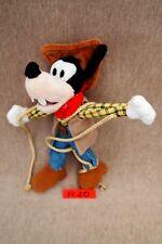 peluche n°R020 :Dingo en cowboy Disneyland Resort Paris 19cm env.