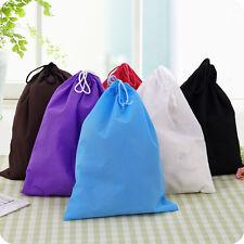 Laundry Shoe Travel Pouch Portable Tote Drawstring Storage Bag Organizer(1pcs)