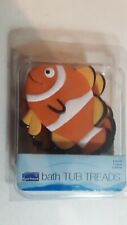 AquaTouch 5 Pack Tub Non Slip Safety Treads,Clown Fish  BRAND NEW