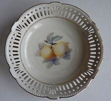 Vintage Schruarzenhammer Bavaria US Zone Germany Pierced Decorative Ceramic Bowl