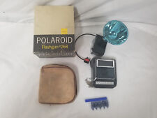 Vintage Polaroid Flashgun #268 & Polaroid Electric Shutter