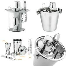 Cocktail Shaker Set Professional Bartender Stainless Steel Bar Mixer Kit 6 Piece
