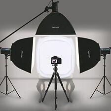 "Photo Studio Photography Light Tent Backdrop Kit Cube 60cm Lighting In A Box 24"""