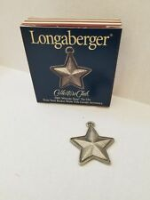 Longaberger Collectors Club Whistle -stop Tie-on 2001