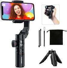 Bomaker 3 Axis Gimbal Stabilizer Iphone Samsung Smart XR Changeable Battery
