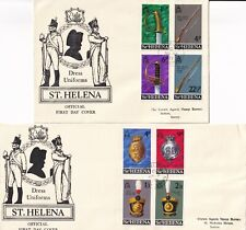 BBB4374 St Helena 12 different First Day Covers 1969 - 1975