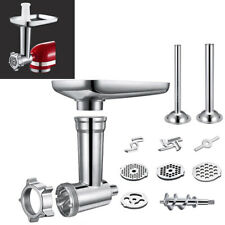 Stainless Steel Meat Grinder Food Chopper Attachment For Stand Mixer