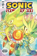 Sonic the Hedgehog 29 SDCC 2020 IDW Exclusive Limited Edition Variant RE 500 NM