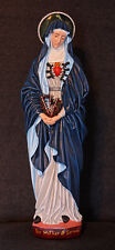 """Our Mother of Sorrows 24"""" Catholic Christian Religious Mary Plaster Statue"""