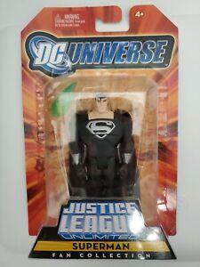 DC Universe Justice League Unlimited Superman Black suit MattyFan Collection JLU