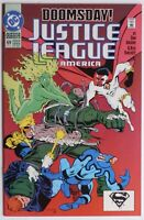 Justice League America #69 (1992, DC Comics) Doomsday NM See Photos