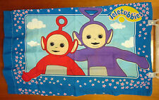 TELETUBBIES sheet set TINKY WINKY bedtime PBS television DIPSY & PO pillow-cases