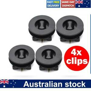 4PCS Universal Car Floor Mat Clips Twist Retainer Carpet Fixing Clamps Holders