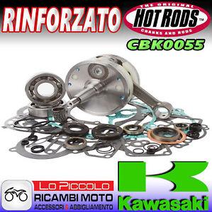 KAWASAKI KX 250 1997 1998 1999 HOT RODS KIT REVISIONE MOTORE ALBERO + CUSCINETTI