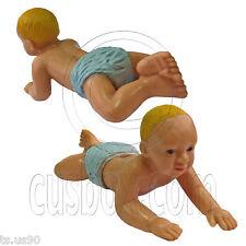 Naked Crawl Baby Boy Doll 1:12 Scale Art Figure Doll's House Dollhouse Miniature