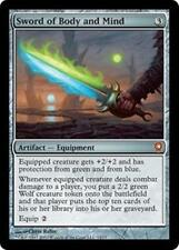 Foil SWORD OF BODY AND MIND From the Vault: Relics MTG Artifact — Equipment Rare