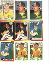 18 CARD LANCE BLANKENSHIP BASEBALL CARD LOT           94