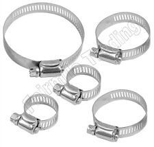 12 x Assorted Jubilee Type Hose Clamp Clip Water Air Fuel Pipe Hose Worm Drive