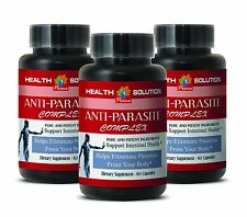 Daily Detox for Toxin Cleanse - Anti-Parasite Blend 1485mg - Cranberry Pills 3B