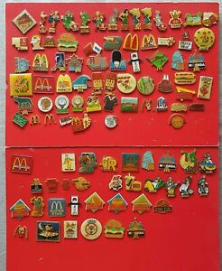 Collection Pins Mcdonalds Fast Food 98 Pins