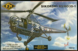 1/48 Fonderie Miniatures Models SIKORSKY R5 HO3S-1 Helicopter *MINT*