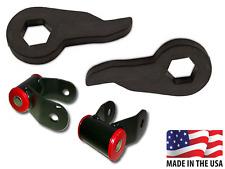"""1997-2003 Ford F150 3""""-2"""" Lift Kit Leveling Torsion Key Adjustable 4x4 Shackle"""