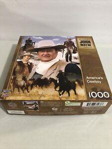 NEW John Wayne America's Cowboy Jigsaw Puzzle, 1000 Pieces
