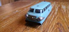 Altes Spielzeug-Auto Blechspielzeug Schuco Varianto Bus mintgrün läuft Sammlung