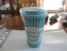 Cypress - Thermal Porcelain Insulated Double Wall Travel Cup with Silicone Lid