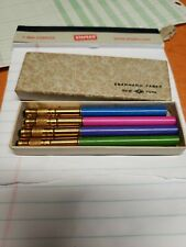 Rare Eberhard Faber Pencils With Extenders In Box