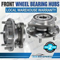 2PCS Front Wheel Bearing Hubs Hub for Toyota Prado GRJ150 1GR-FE KDJ150 1KD-FTV