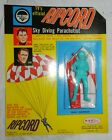Vintage TV\'s Official Ripcord Sky Diving Parachutist toy Mint on Card