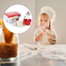 Wooden Childrens/Kids Kitchen Food Mixer Appliance Pretend Cooking Toy Play-Set
