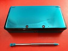 Aqua Blue Agua Blue Nintendo 3DS System Console [System w/ Stylet Only] Tested