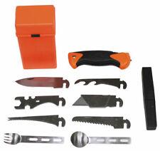 MFH 27-teilig Überlebensset SPECIAL orange Box Survival Set Notfall Set Outdoor