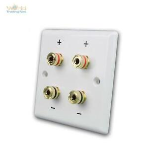 Ls Wall Mounting Box Mounting Can Up Speaker Socket Flush-Mounted