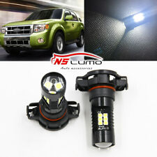 2x 5202 H16 LED Fog Light Kit Lamp Bulbs for 2008-2012 Ford Escape 6000K White