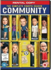 Community - Series 4 Complete (DVD, 2013, 2-Disc Set) NEW SEALED PAL Rental Copy