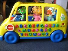 1999 Leapfrog Fun & Learn Phonics Bus Animals Alphabet Sounds, Working!