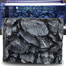 3D Rock Stone Aquarium Background Reptile Fish Tank Backdrop Decoration 60x45cm